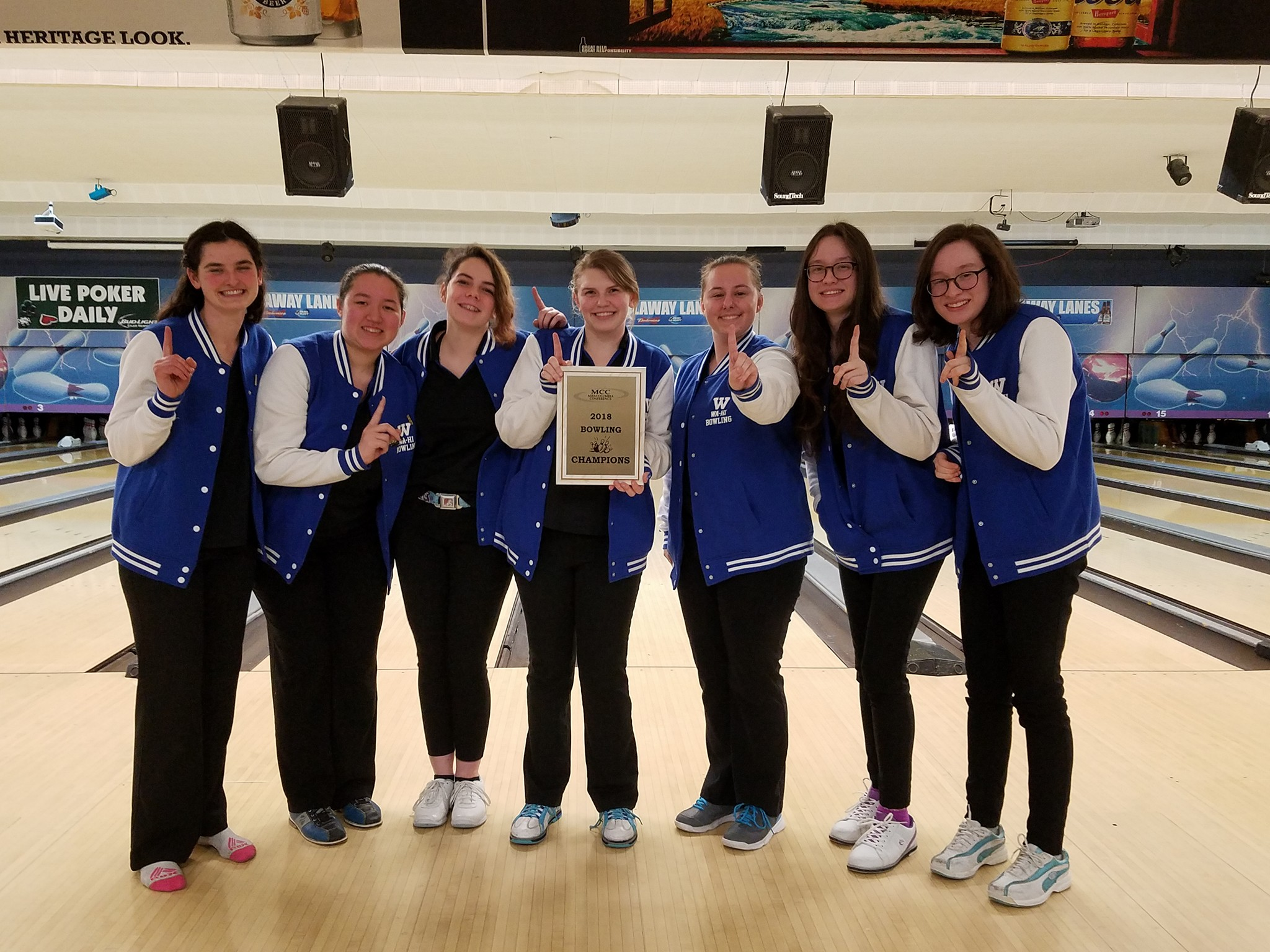 2018 Bowling Wins MCC District Champs