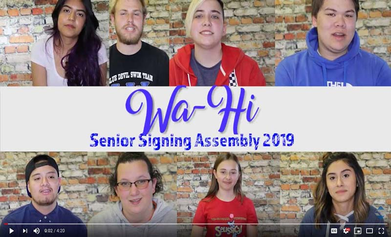 senior assembly 2019 video